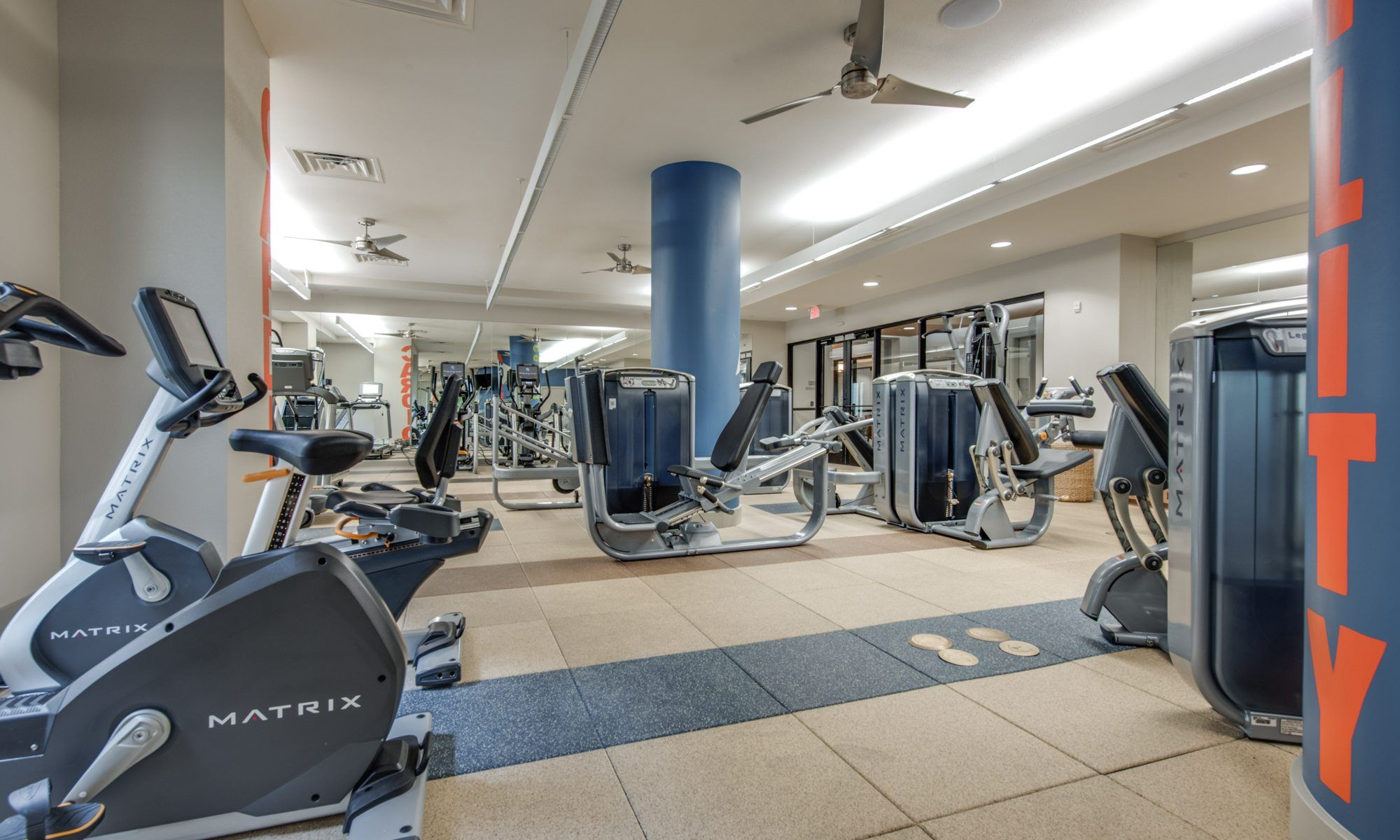500 Crawford Houston Downtown Apartments | Fitness Center 3